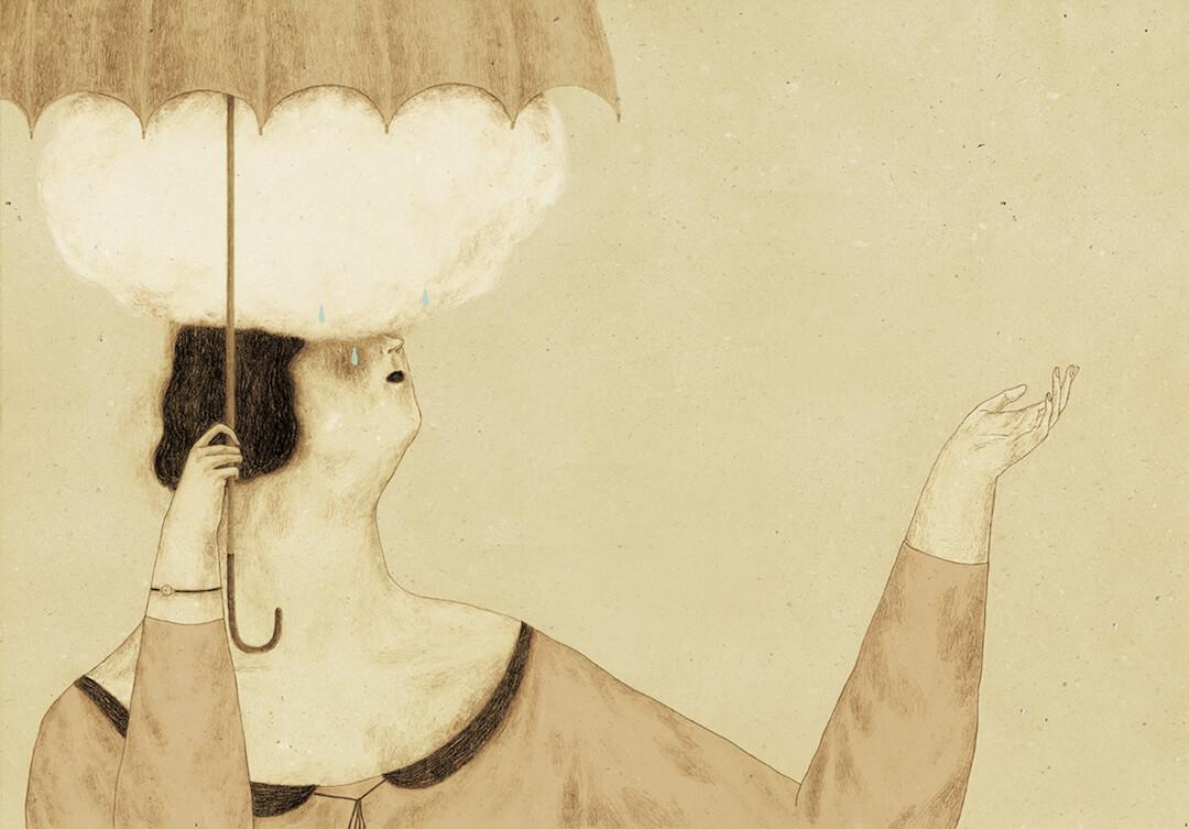 Brown Illustration by Monica Barengo