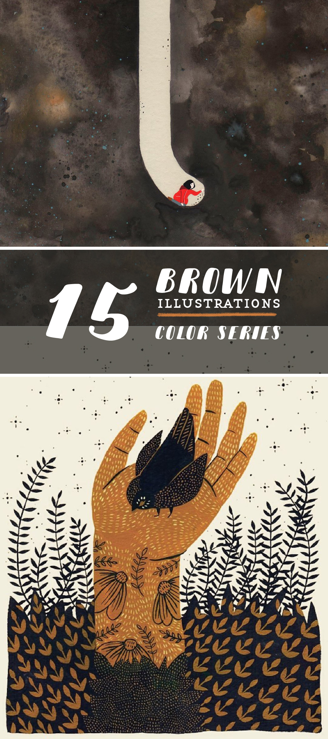 Brown illustrations