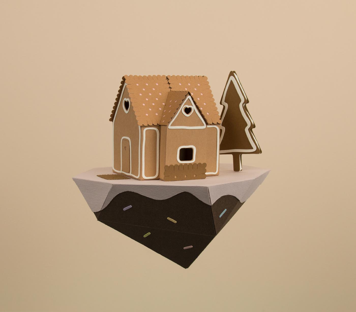 Brown Illustration by Vera van Wolfren