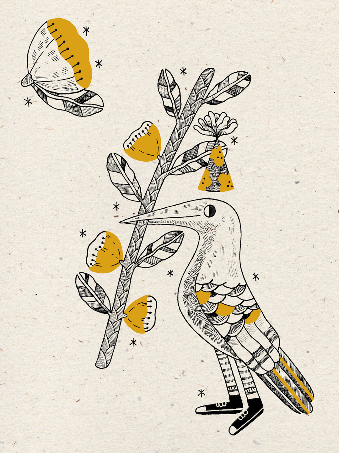 Charming Folk Art Illustrations of Creature Characters by ...