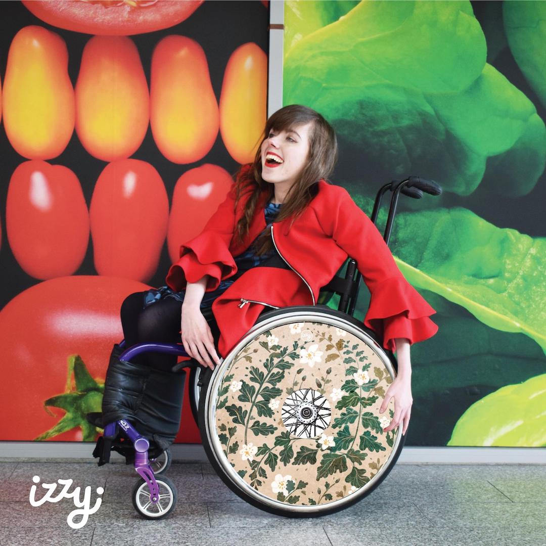 Izzy Wheels stylish wheel covers by Alma Del Valle
