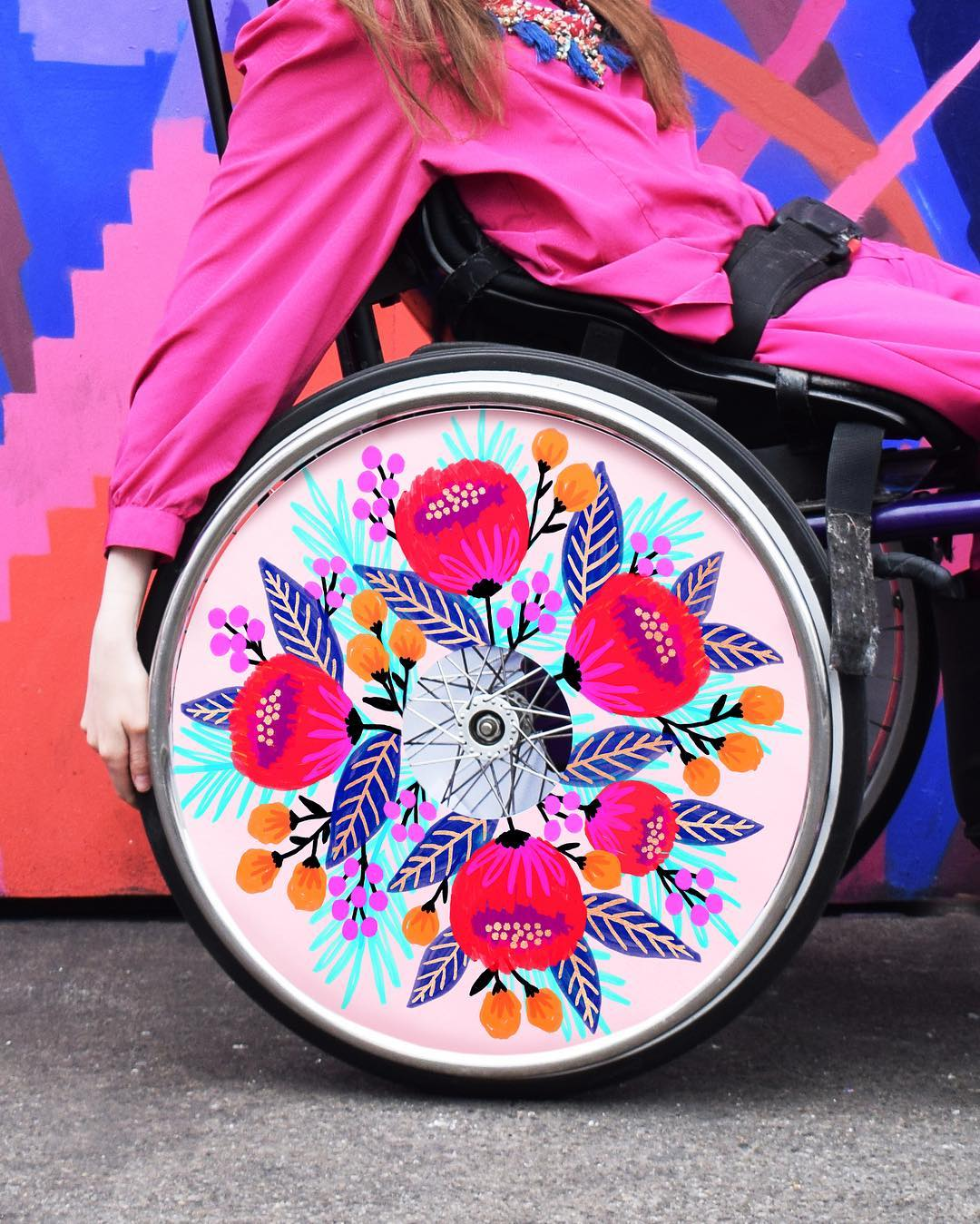 Izzy Wheels stylish wheel covers by Jess Phoenix