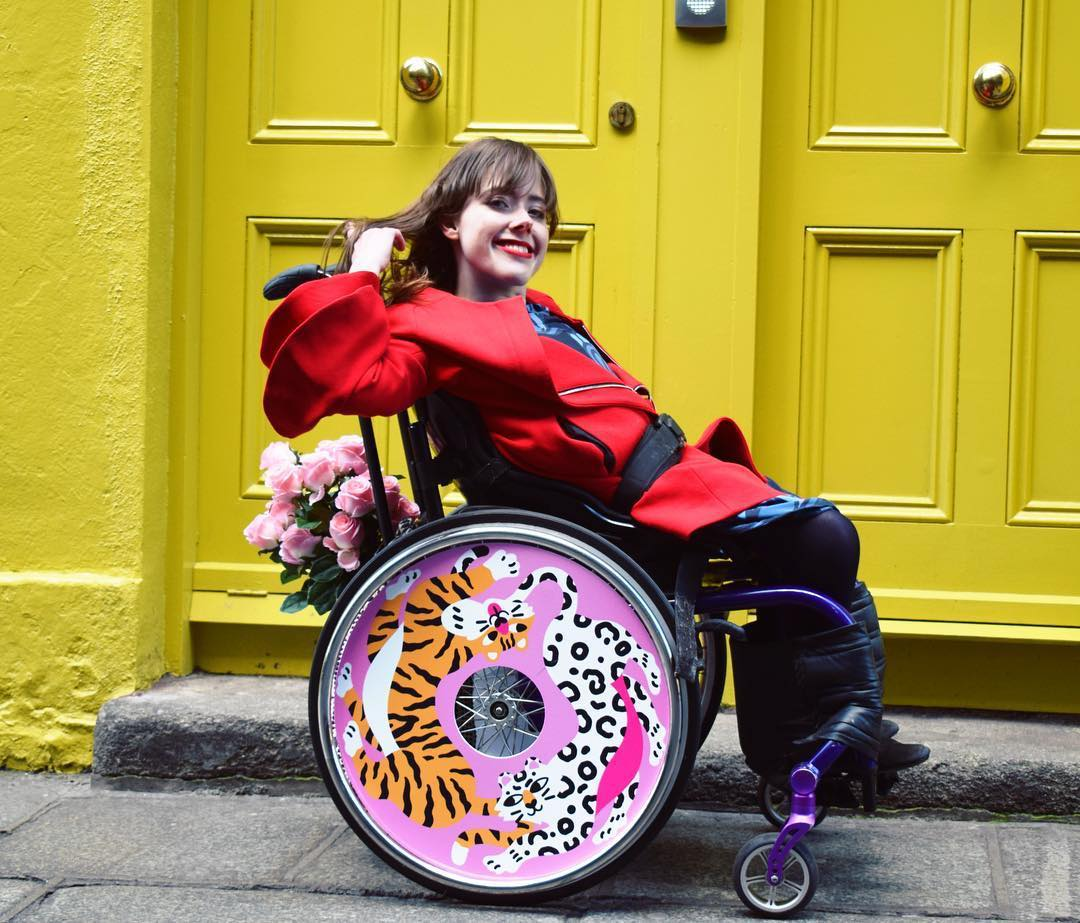 Izzy Wheels stylish wheel covers by Mary Lou Faure