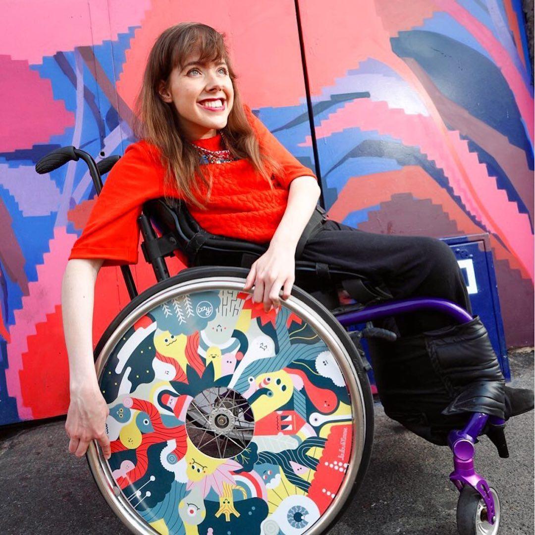 Izzy Wheels stylish spoke guards by Loulou & Tummie