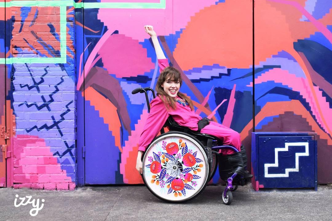 Izzy Wheels stylish spoke guards by Jess Phoenix