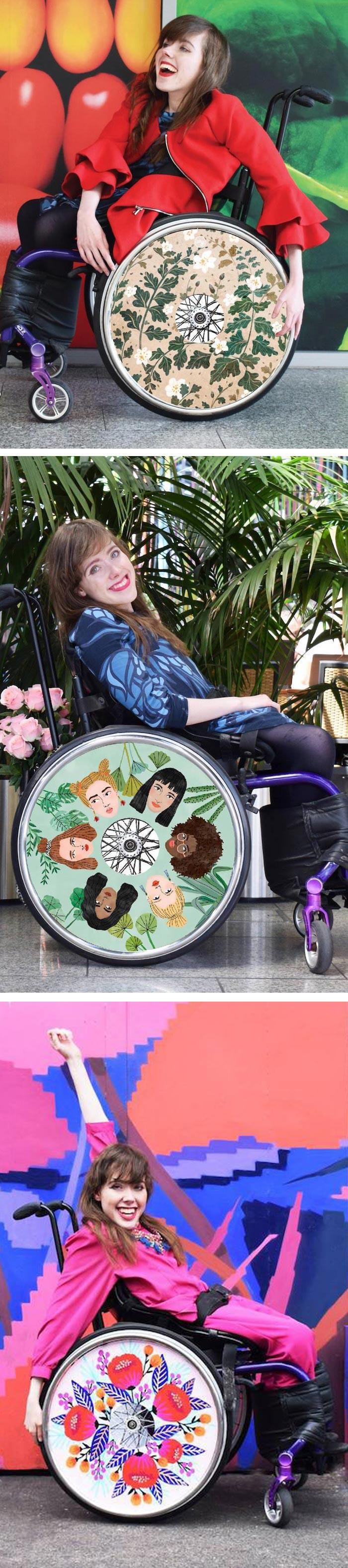 Izzy Wheels stylish wheel covers