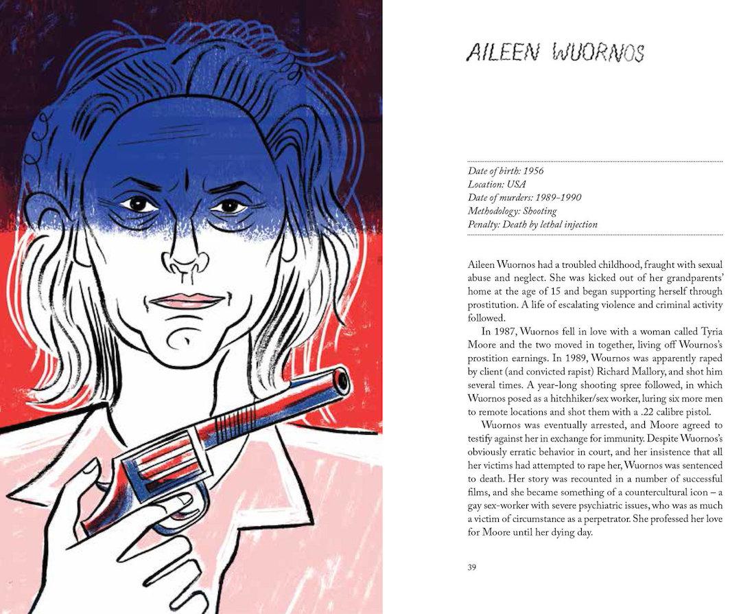 Women Who Kill illustrated by Sarah Tanat Jones