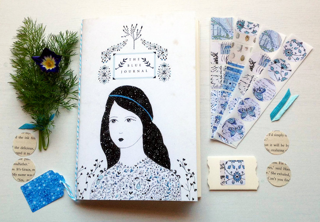 Art journals by Lily Moon