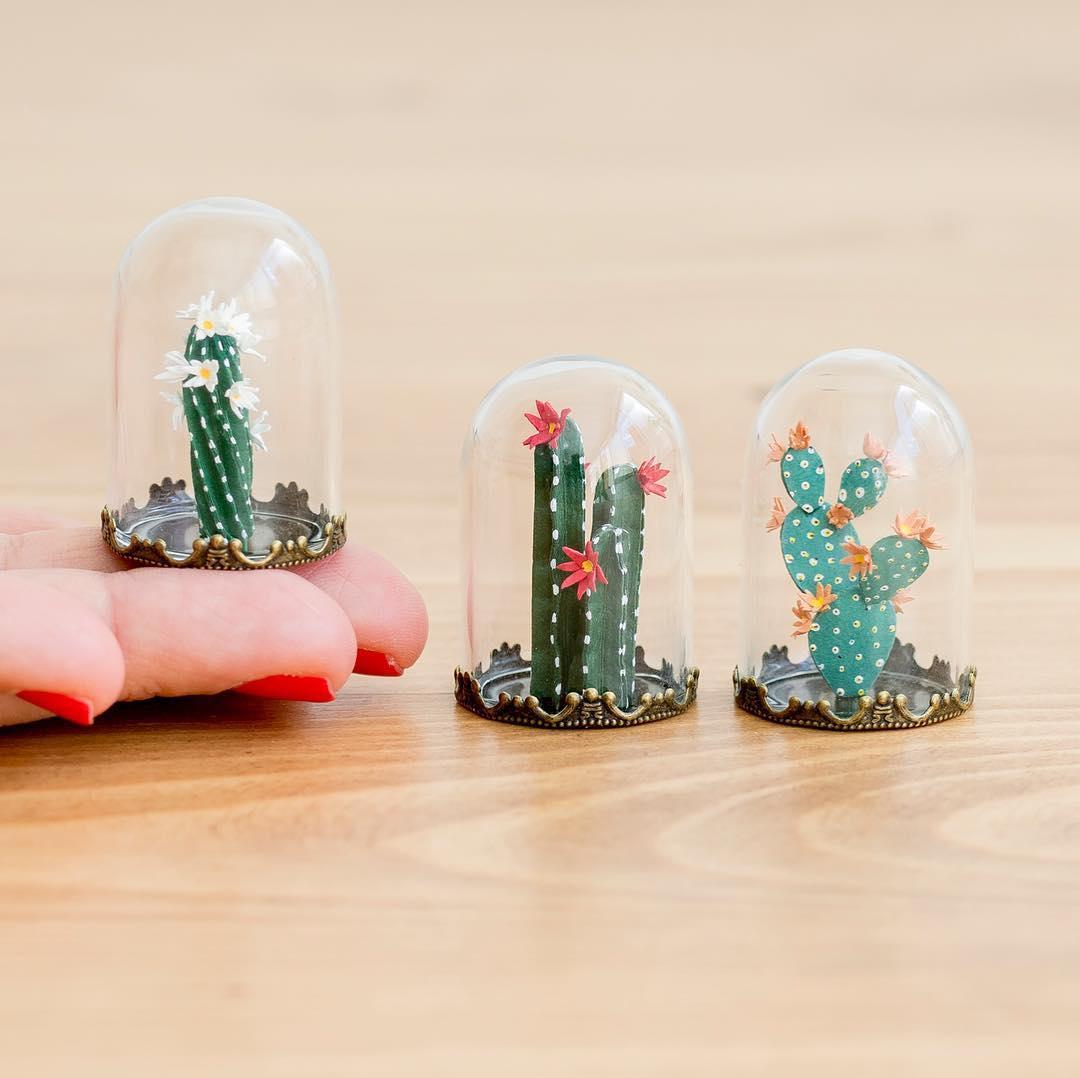Miniature paper sculptures by Raya Sader Bujana