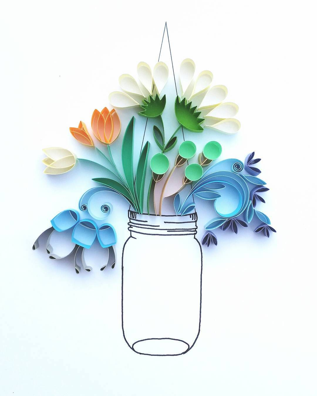 Paper Quilling by Meloney Celliers