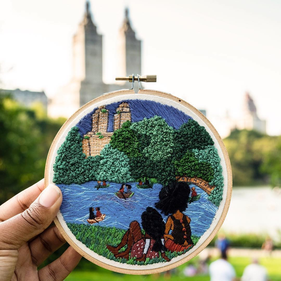 Embroidery by Vesha Parker