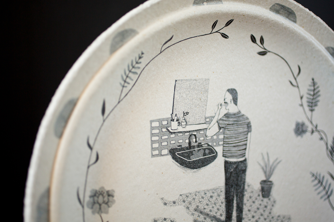 Handcrafted pottery by Daphne Christoforou