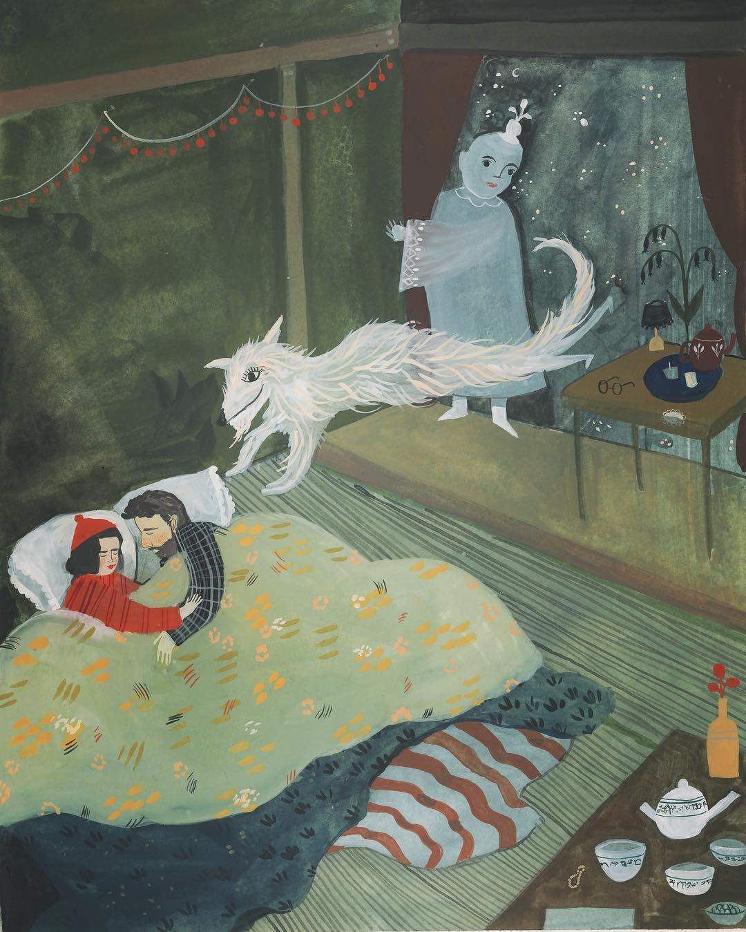 Illustrated dreams by Esmé Shaipro