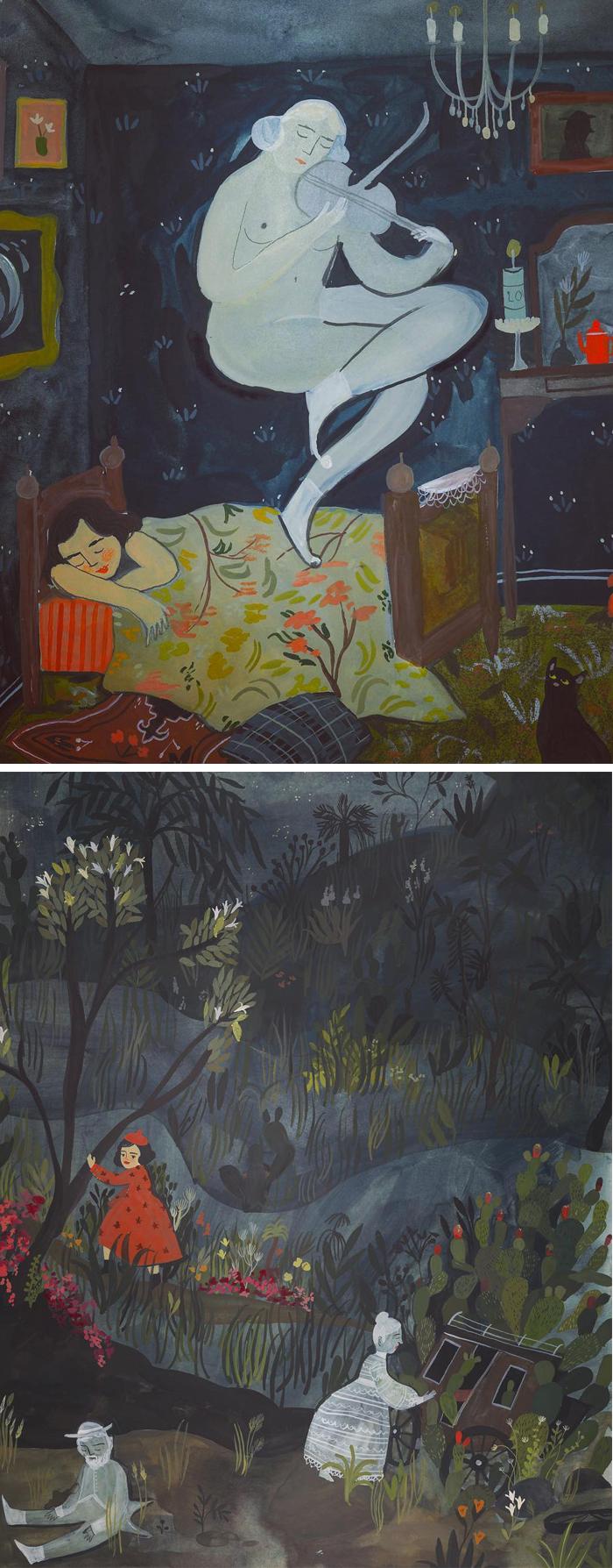 Illustrated dreams by Esmé Shapiro