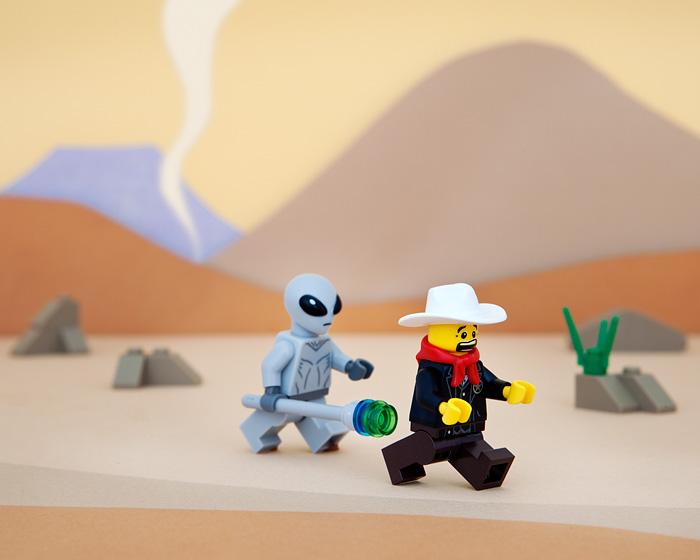50 States of Lego: Satire Through Toys • Brown Paper Bag