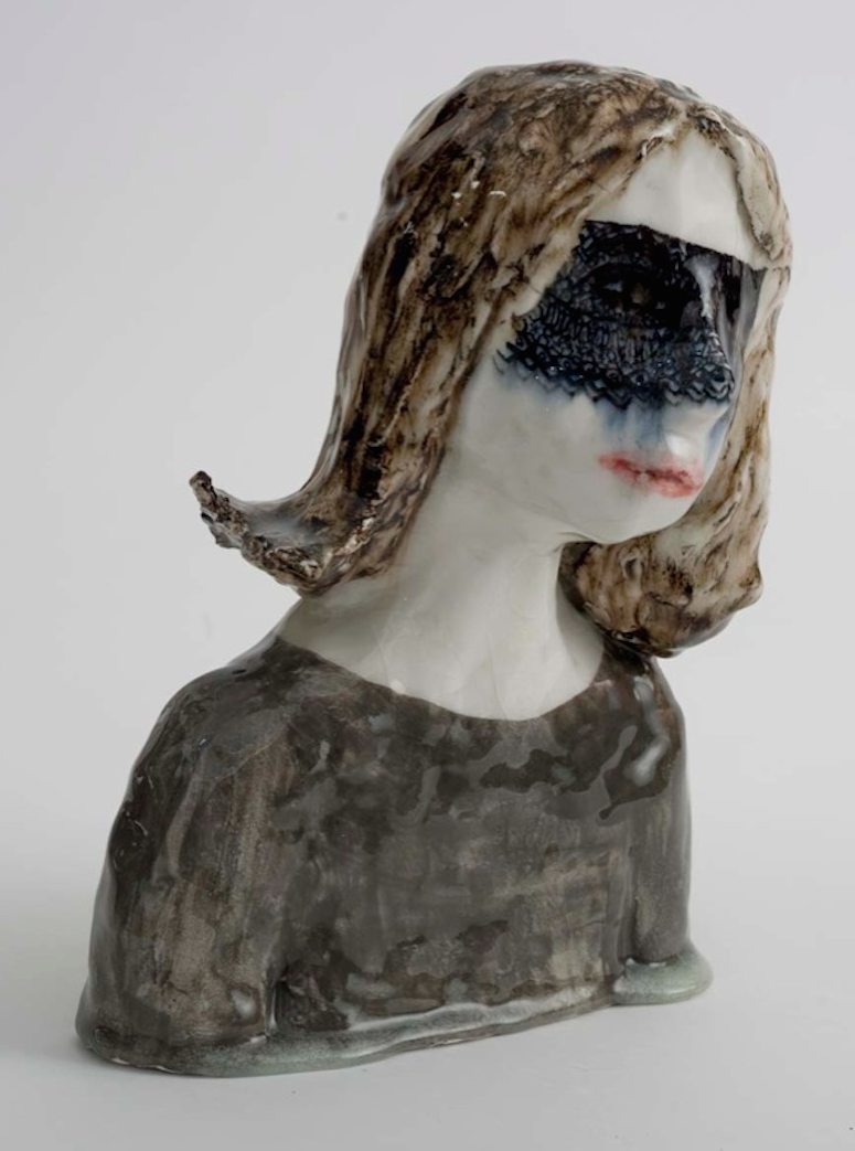 Klara Kristalova S Grotesquely Beautiful Ceramic Busts