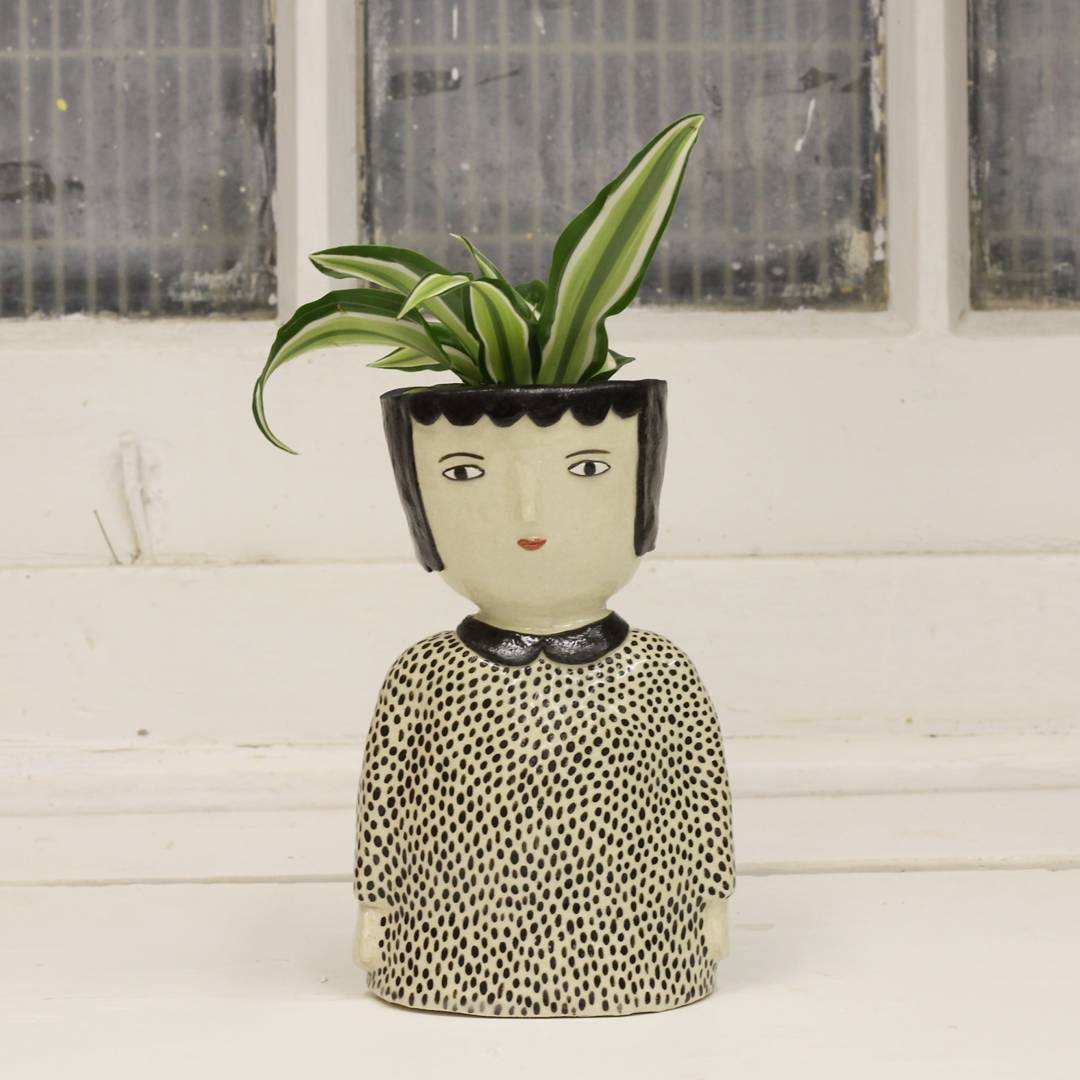 Kinska S Ceramics Celebrate The Quirkiness Of Face Pots