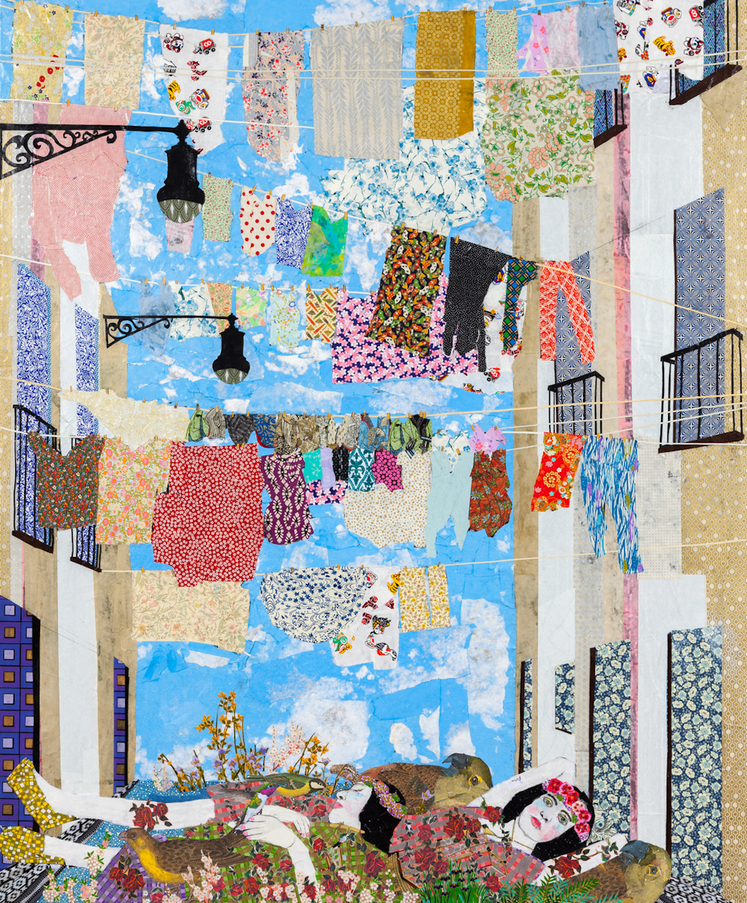 So Cal Clothing >> Collage Art by Maria Berrio is So Intricate You'll Wonder Who Needs Paint?