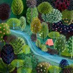 """Landscape Illustrations That'll Make You Say, """"I Want to GoThere"""""""