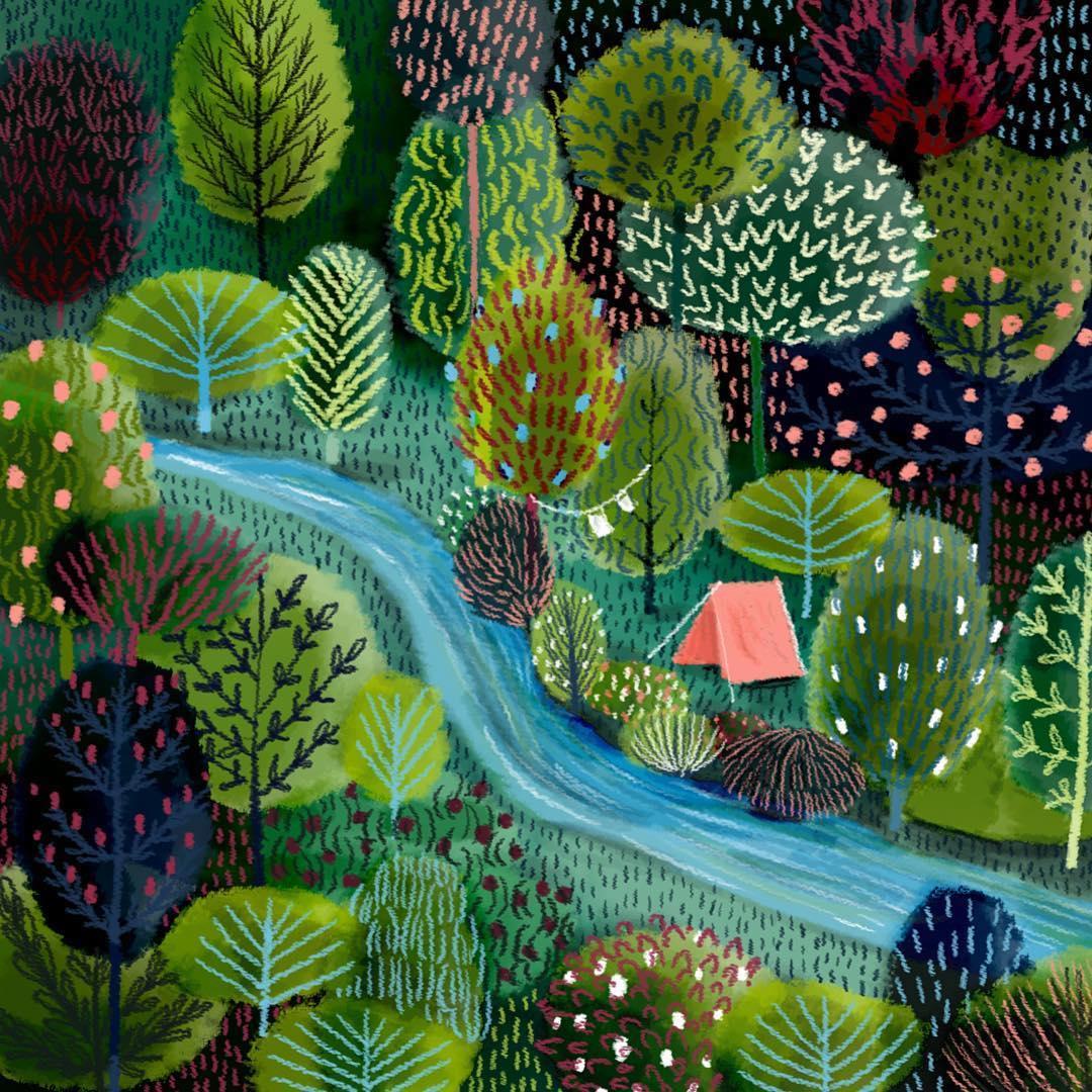 Unique Art Painting On Woods