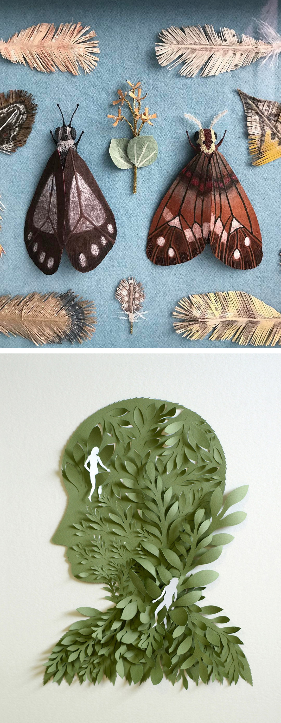 10 Examples Of Cut Paper Illustration To Put You In Tune