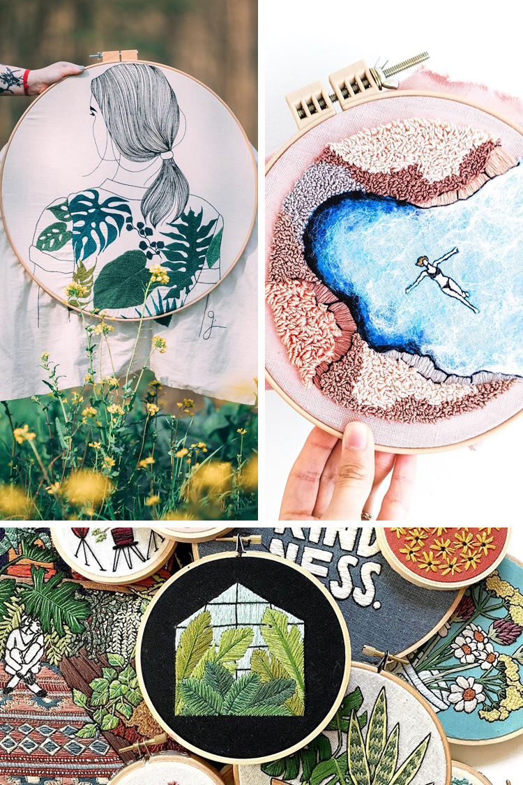 Inspirational Instagram 16 Of The Best Embroidery On Instagram