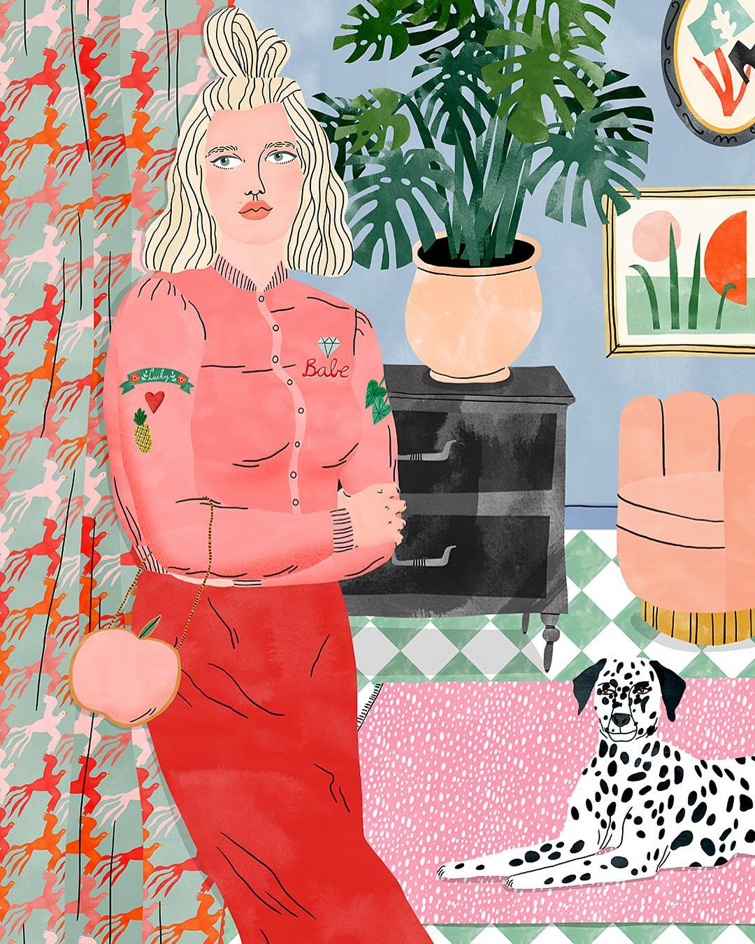Bodil Jane, one of the best illustrators to follow on Instagram