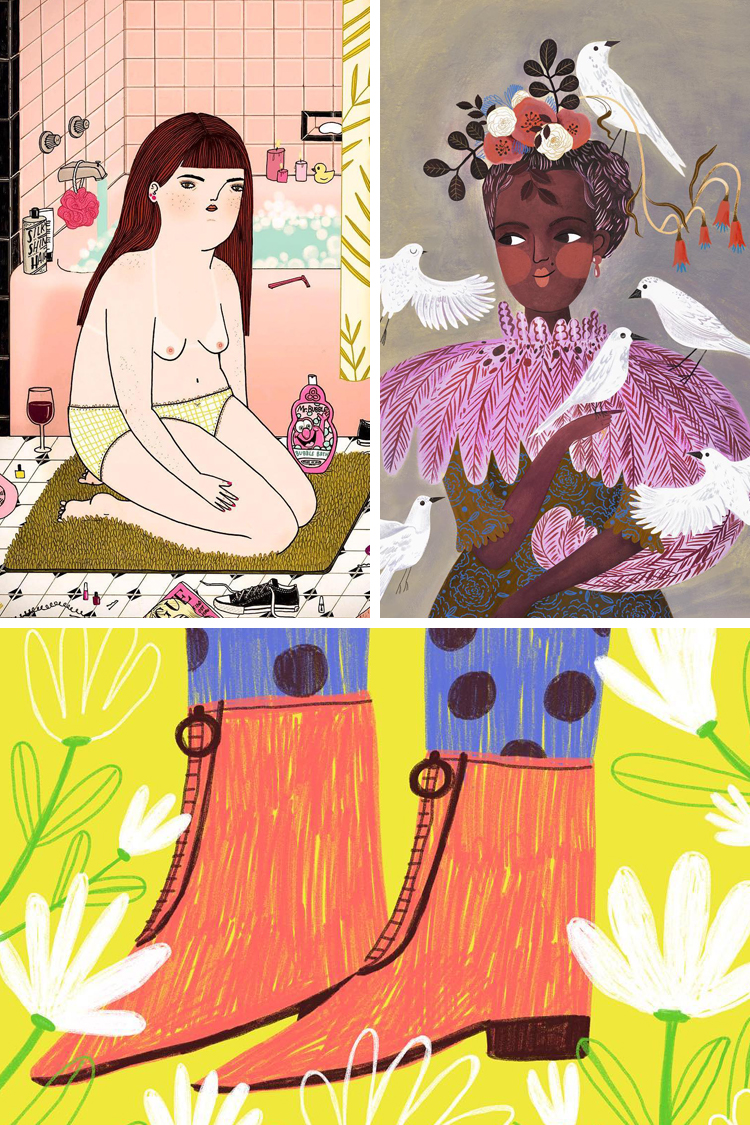 Illustrators to follow on Instagram