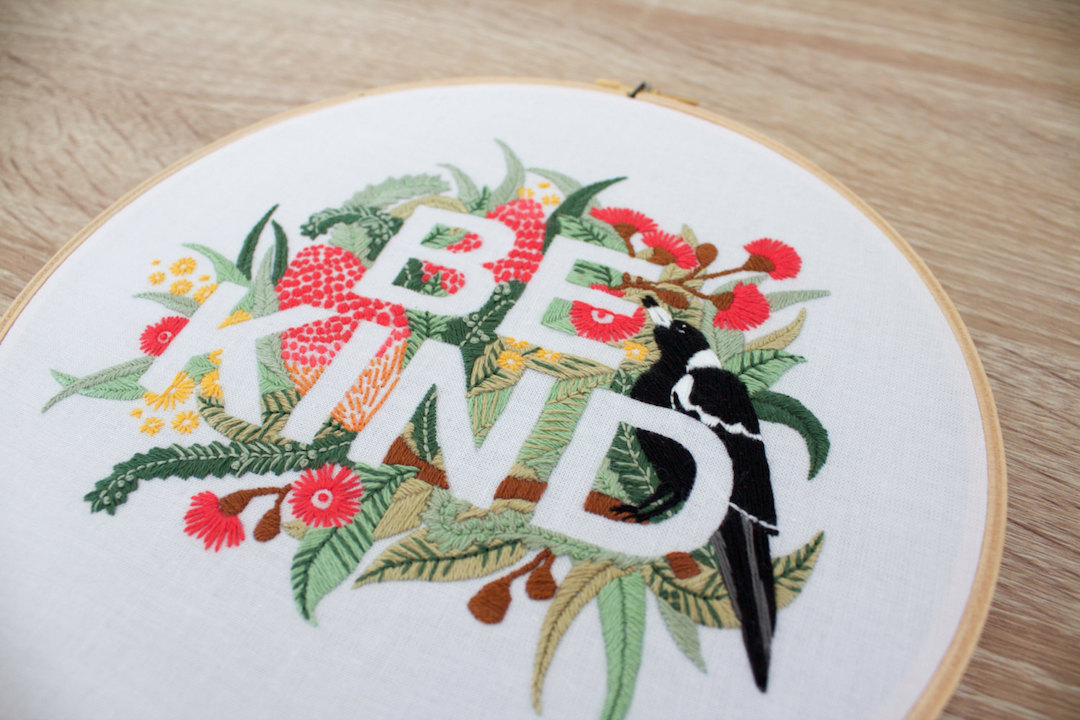 Modern Embroidery Patterns Highlight The Collaborative Nature Of The