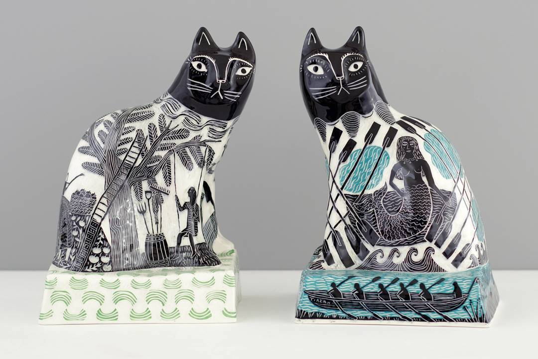 Vicky Lindo Sculpts A Contemporary Riff On Staffordshire