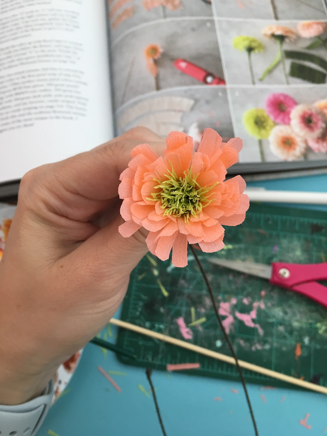 Learn How To Make Faux Blooms With Paper Flowers Diy