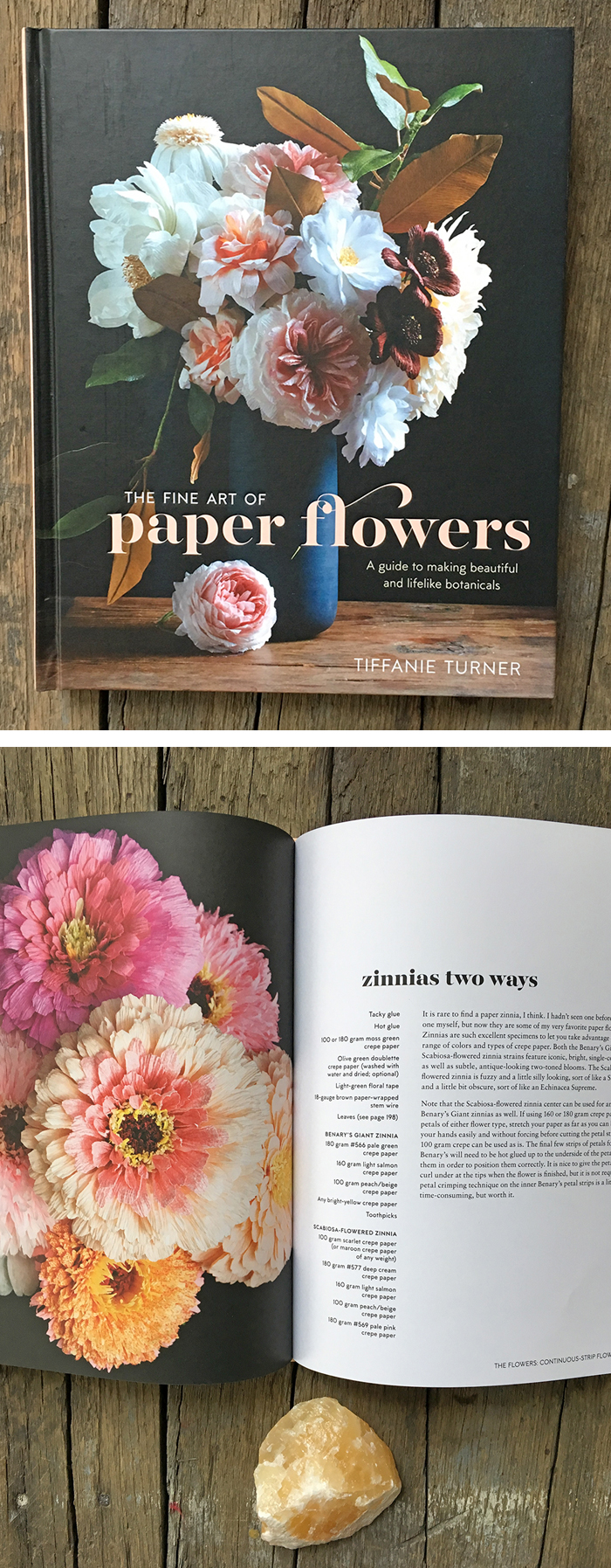 Learn how to make faux blooms with paper flowers diy the fine art of paper flowers by tiffanie turner mightylinksfo