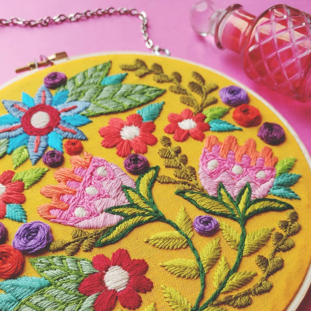 11 Hand Embroidery Details Thatll Make You Swoon