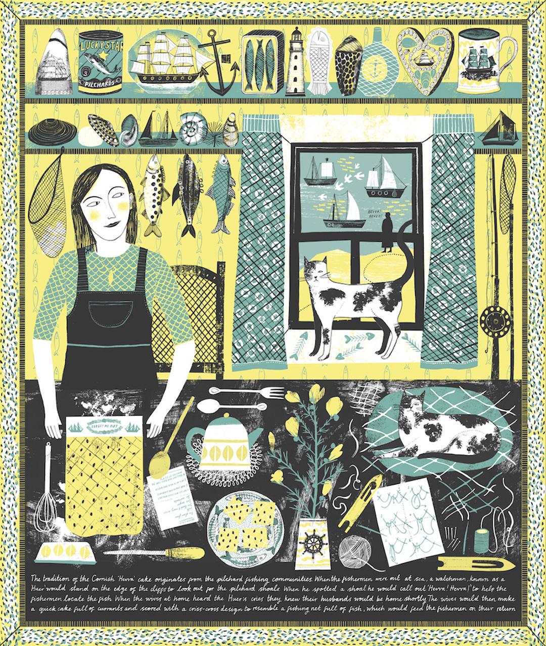 Screen print by Alice Pattullo