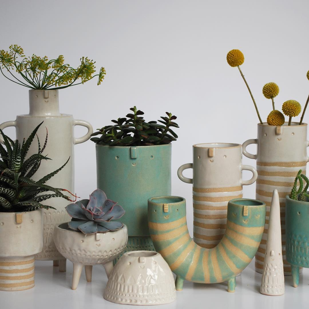 Adorable Planters Bring a Friendly Face to Your Indoor Garden