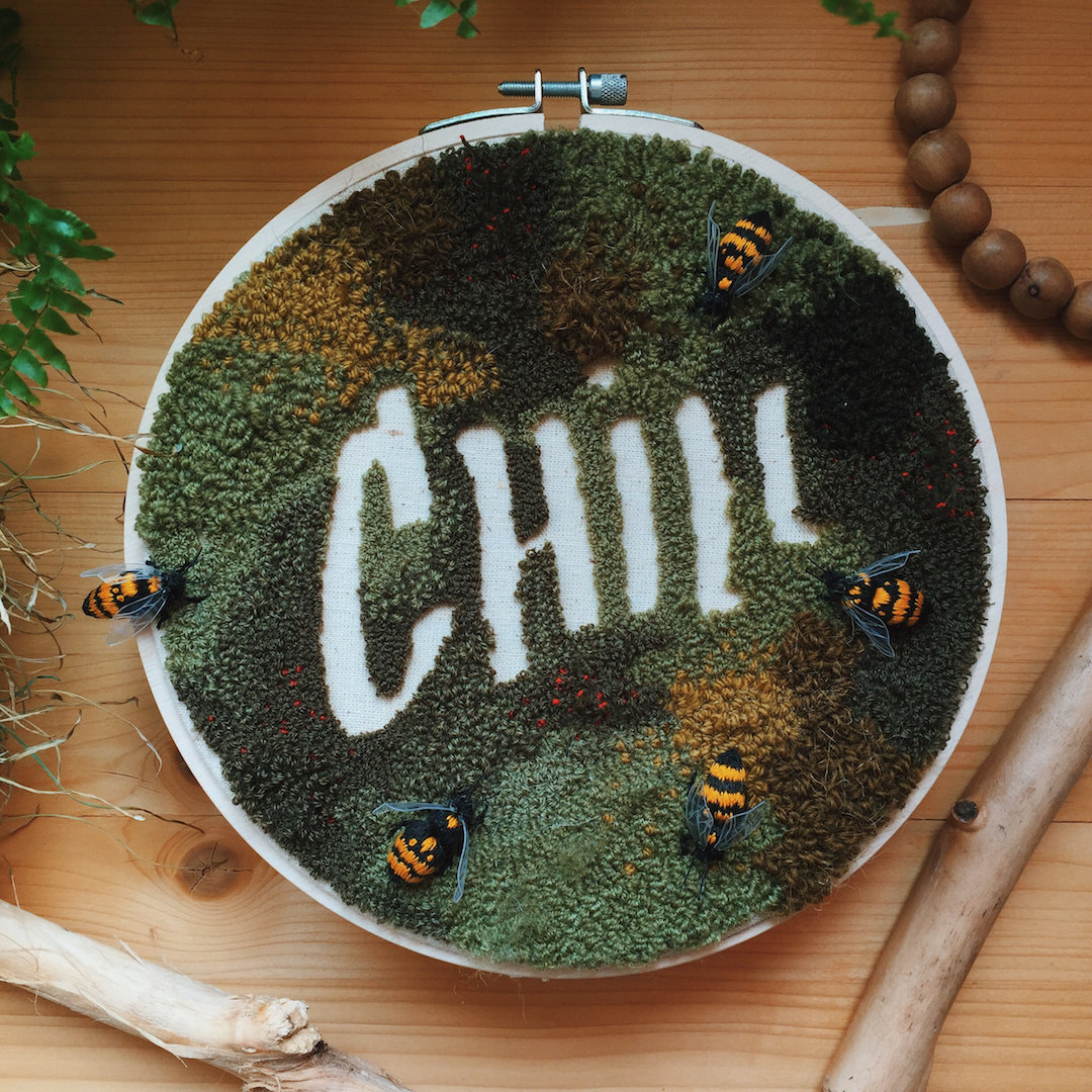 Hand embroidery by Hygge by Nikitina