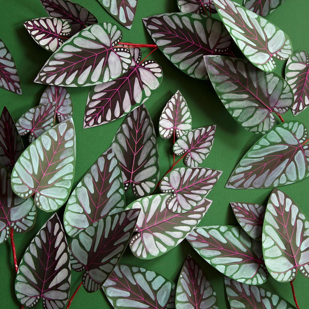 Lifelike Paper Plants Are Perfect For People Lacking Green Thumbs