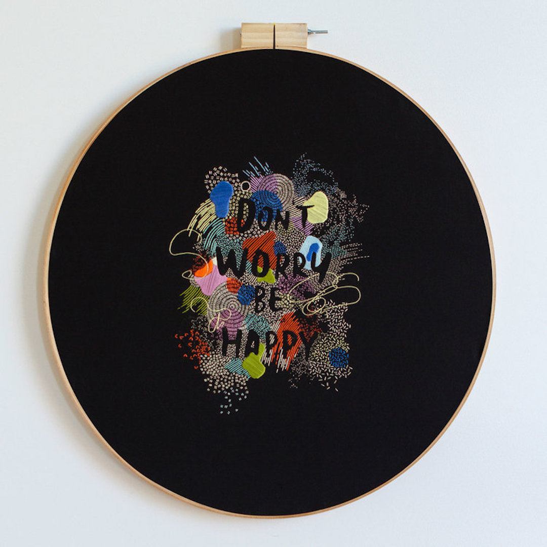 Hand embroidery fonts by Maricor/Maricar