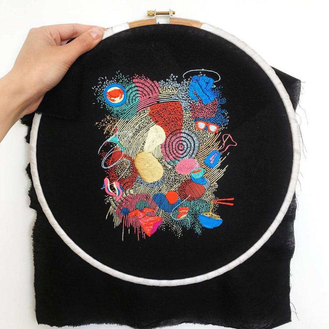 Hand embroidery by Maricor/Maricar