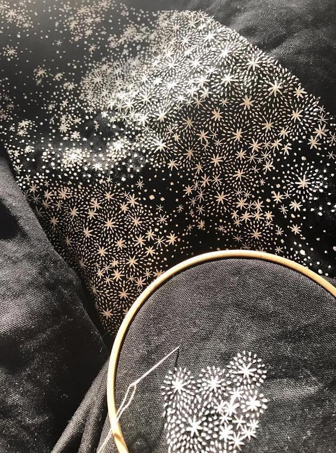 Wearable art by Juno Embroidery