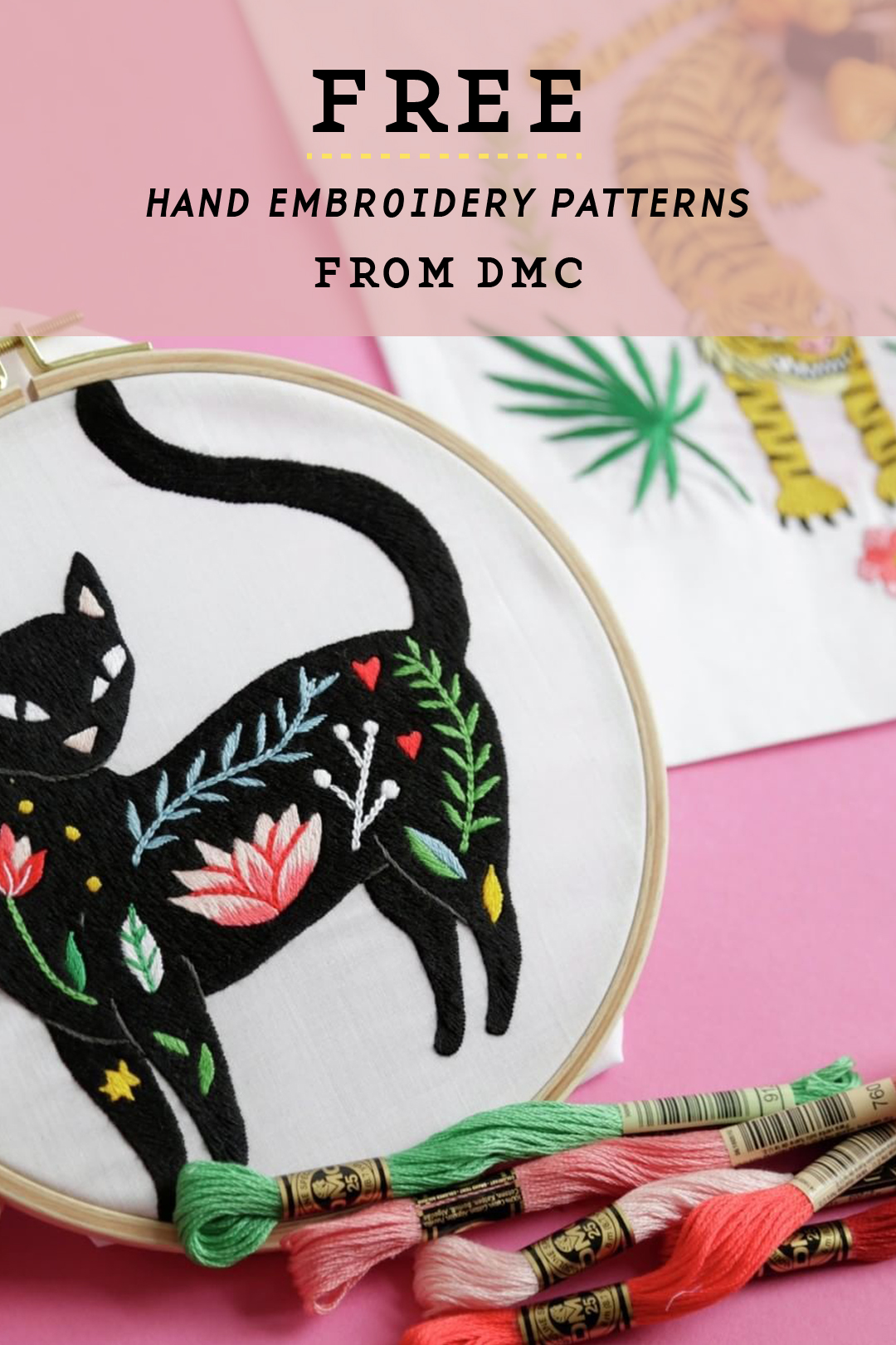 Embroidery Patterns Free New Ideas