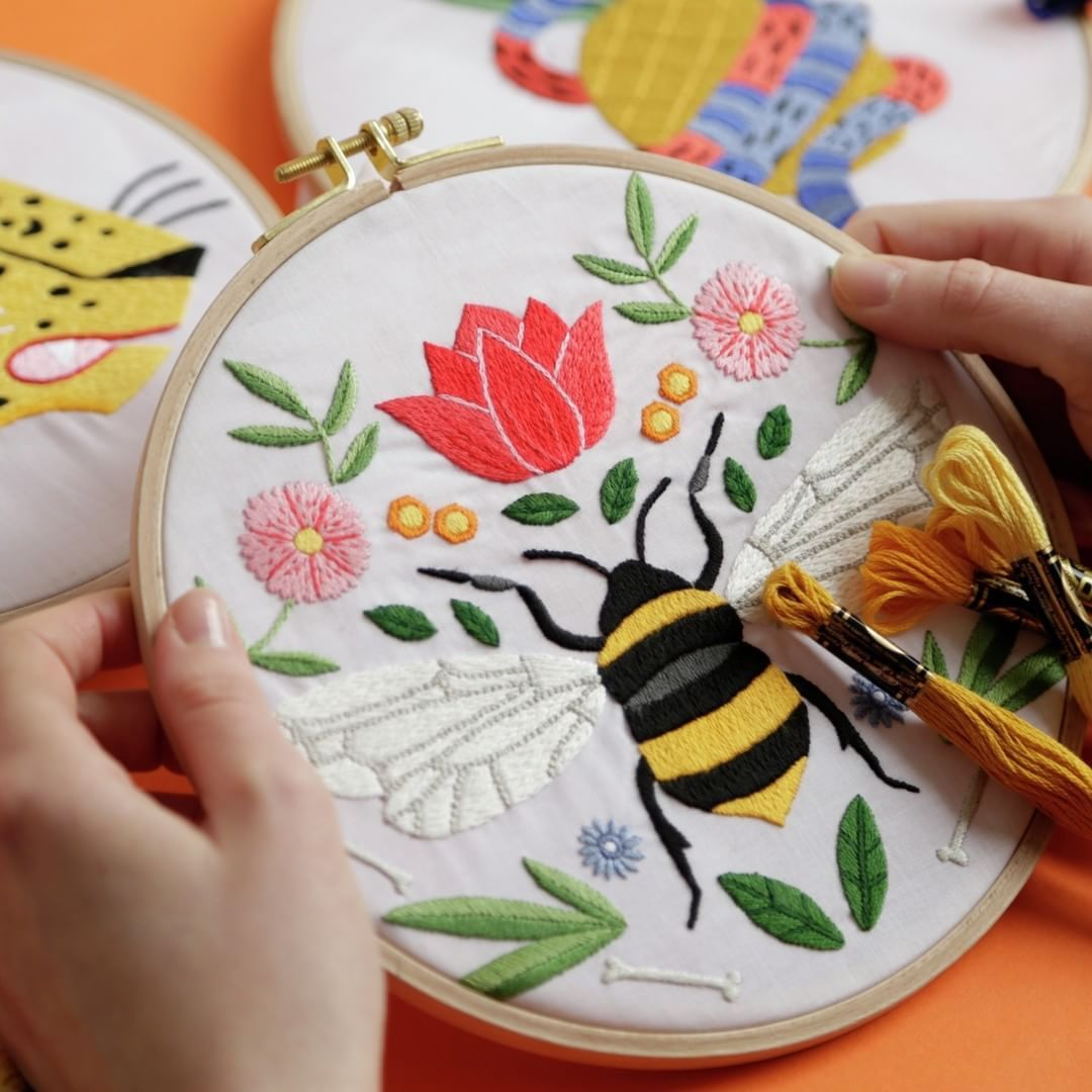 Free Hand Embroidery Patterns by DMC You Can Download Now