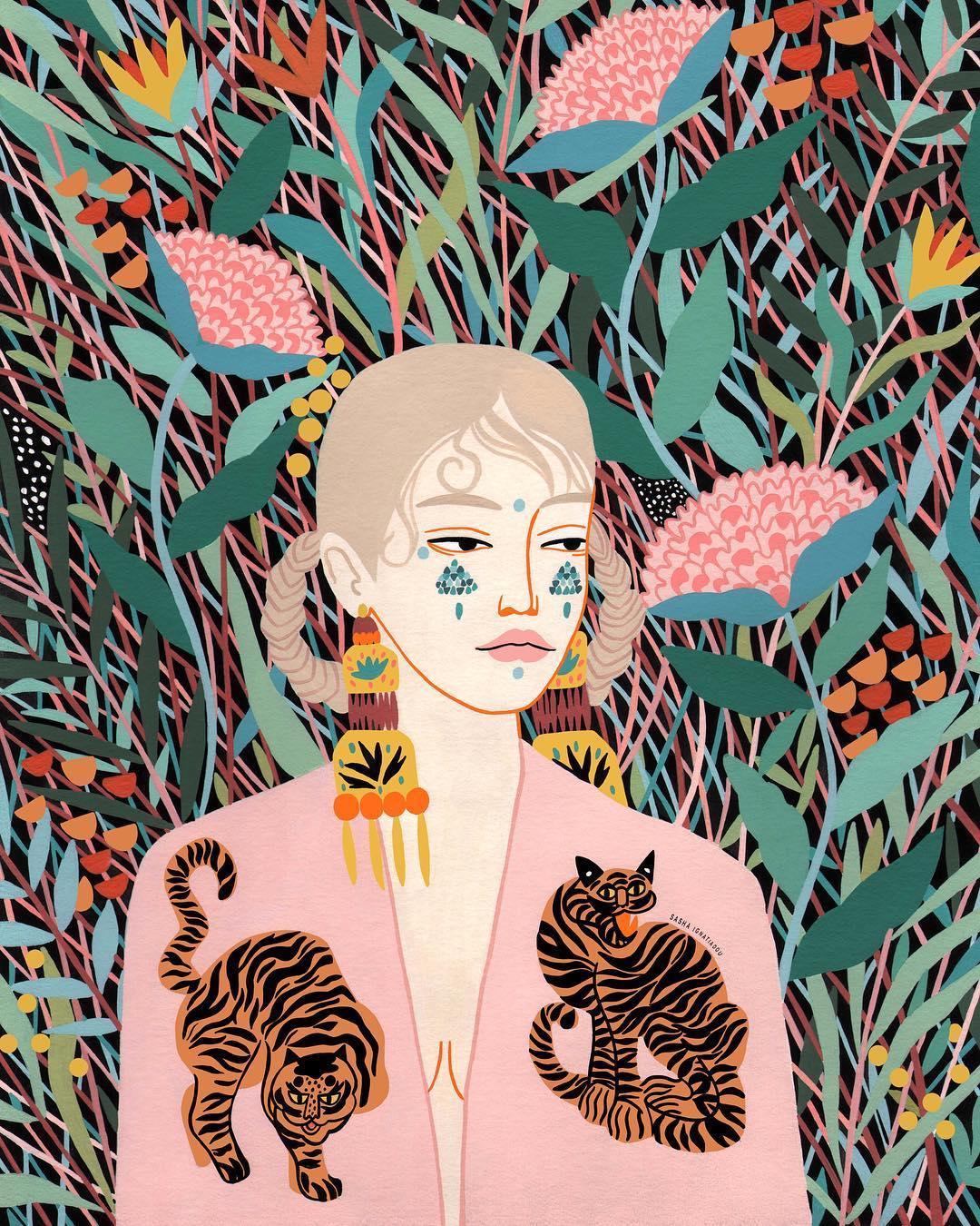 Illustration by Sasha Ignatiadou