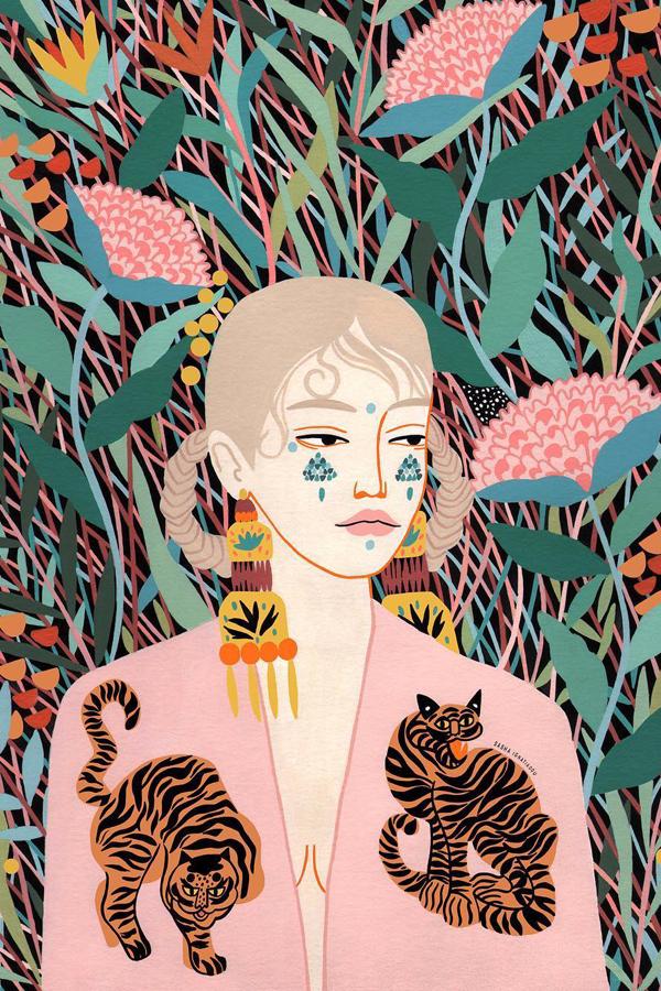 Illustration art by Sasha Ignatiadou