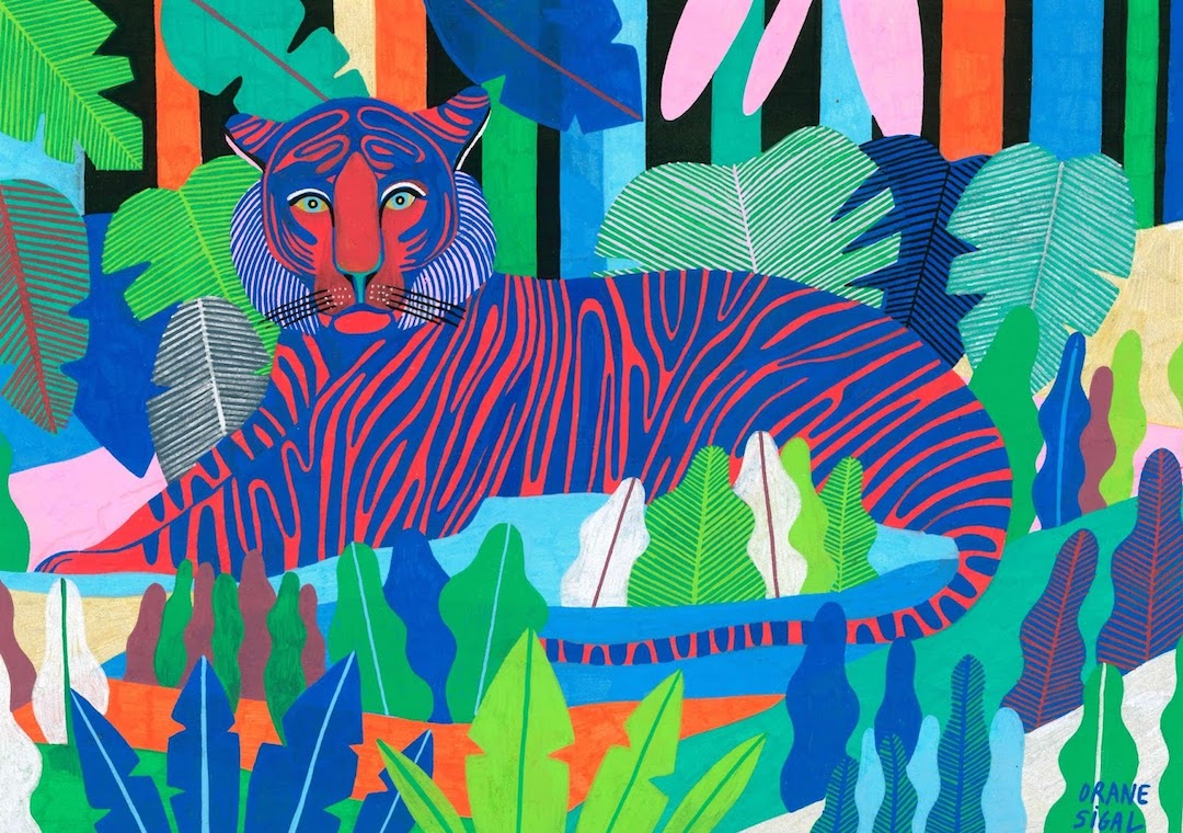 A Vibrant Color Palette Electrifies the Jungle Like You've Never Seen Before