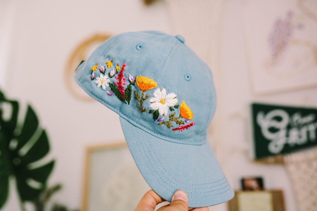 Interview: Lexi Mire Shares a Peek into her Custom Embroidered Hats