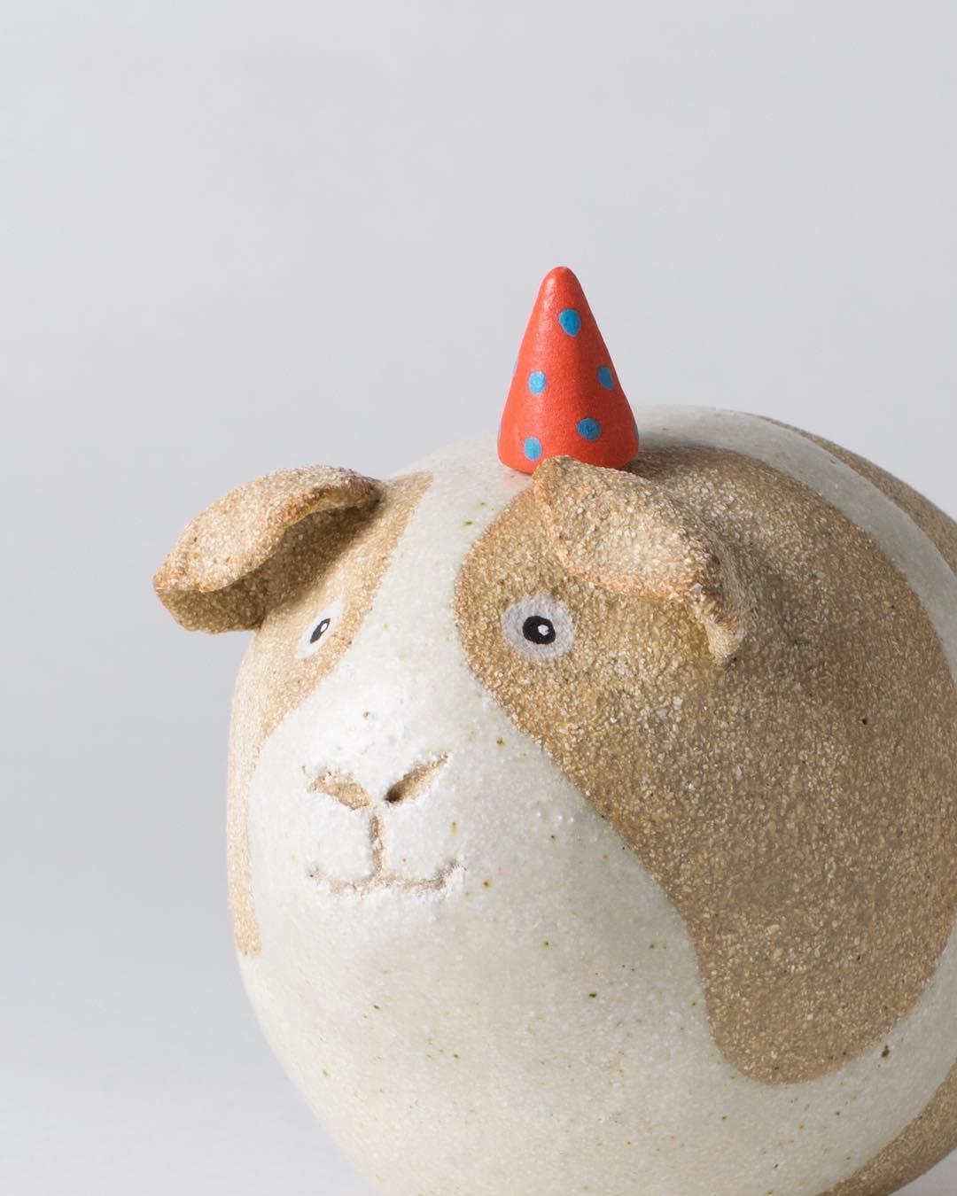 Ceramic creatures by Helen Hodson