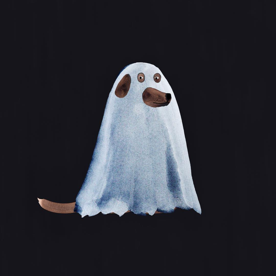 Halloween illustration by Marc Martin
