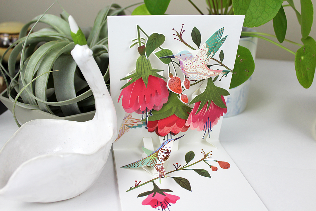 Pop up greeting card by Up With Paper