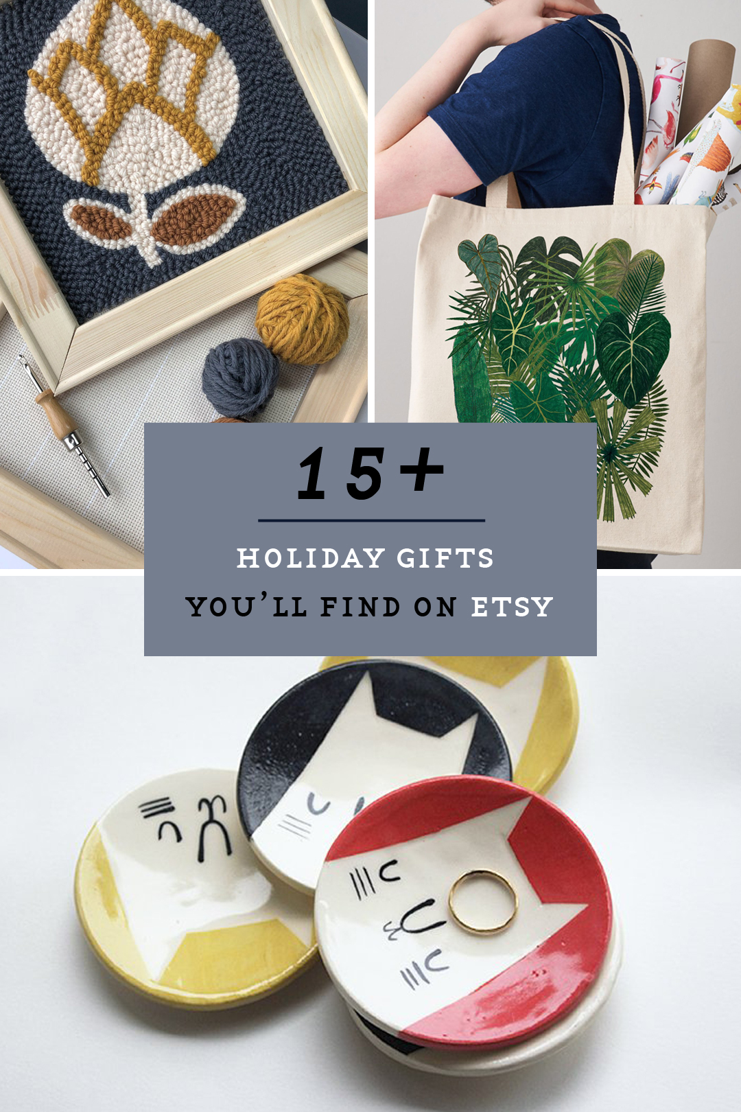 Etsy holiday gift guide — 2018